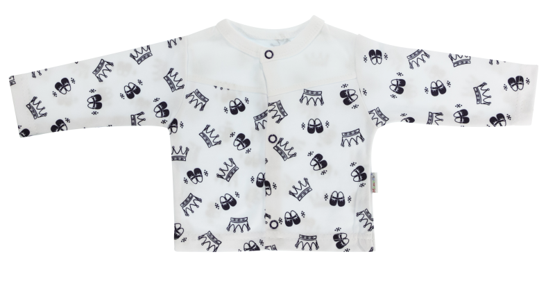 Bavlněná košilka Princezna, granátová, vel. 68