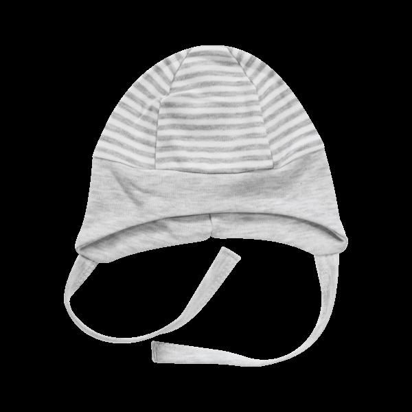 Čepička na zavazování Gentleman, šedá, vel. 68