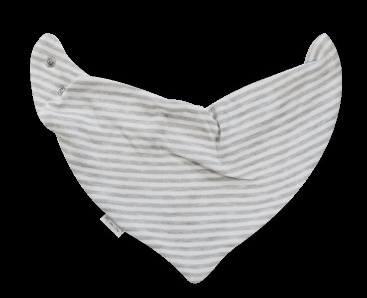 Dětský šátek na krk Gentleman, šedý