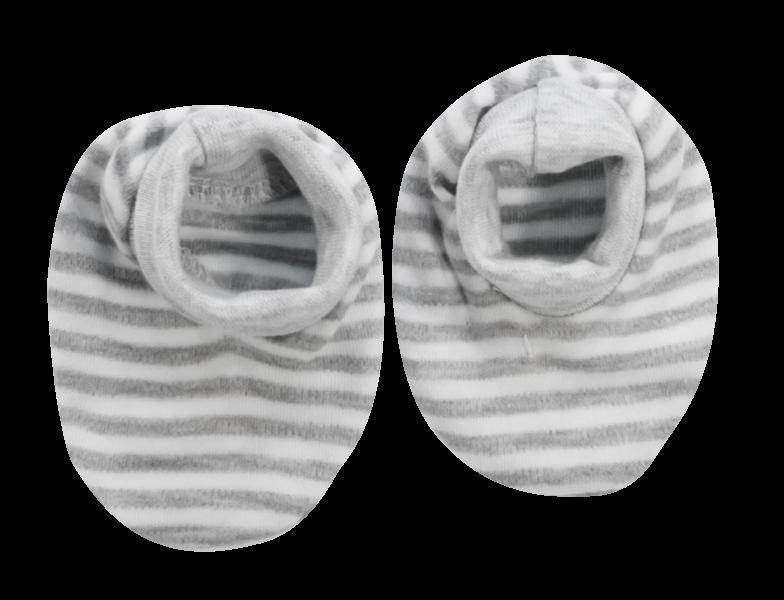Kojenecké botičky/ponožtičky Gentleman, šedé