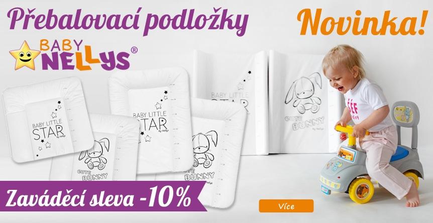 Neodolatelné podložky BABY NELLYS - zavádějící akce!