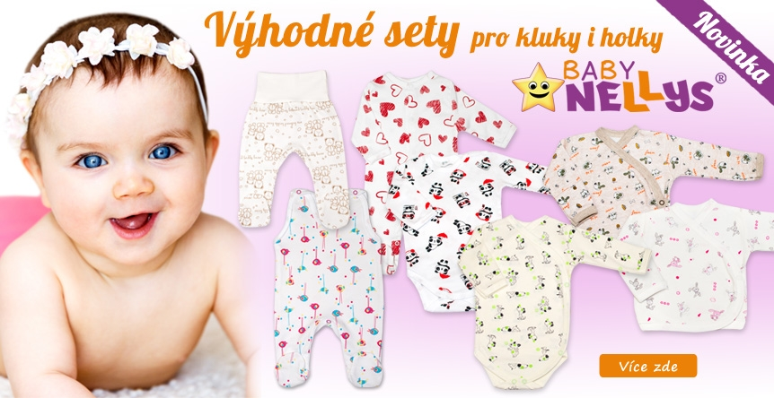 Výhodné sady kojeneckého oblečení Baby Nellys