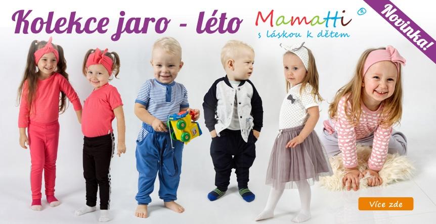 Nová jarní - letní kolekce 2020 od Mamatti.