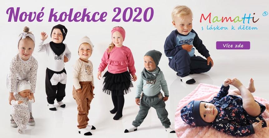 Trendy Mamatti kolekce 2020 kojeneckého oblečení.