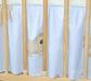 VÝPRODEJ Krásný volánek pod matraci - Pejsek modrý