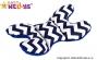 Polštářek - MOTÝL stabilizaci hlavičky Zigzag…