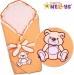 Zavinovačka s výztuží TEDDY BEAR Baby Nellys -…