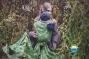Little FROG Žakárový tkaný šátek na nošení dětí -…