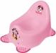 Nočník Minnie s protiskluzem - růžový
