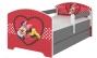 Dětská postel Disney s šuplíkem - Minnie Srdíčko
